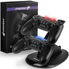Fosmon Playstation PS4 Controller Charger Dual USB Charging Dock Holder Station