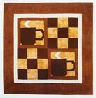 EXPRESSO YOURSELF Quilt Pattern Table Topper Confident Beginner from Magazine