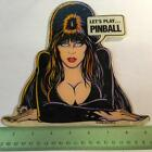 Genuine ELVIRA and the Party Monsters Pinball Promo Plastic NEW NOS Bally    D13