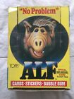 1987 Topps ALF Near Complete Card Box 47 48 + Near Complete Set + Sticker Cards