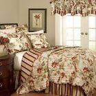 Waverly 11396FULL/QUEENPPY Charleston Chirp 88-Inch by 90-Inch 4-Piece Quilt