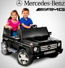 New Kids Ride On Car Mercedes Benz G55 AMG 12V Power Rubber Wheels No Tax Xmas