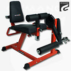 GYMANO  PRO LEG CURL  EXTENSION BENCH LEVERAGE GYM WEIGHT PLATE LOADED