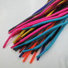 3 16 Round Athletic Shoelaces Sport Sneakers Shoe Laces Neon Colors Strings