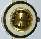 VINTAGE CUSTOMTIME WATCH SWISS-MADE WIND UP WRISTWATCH MOD WHITE WORKING