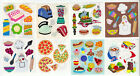 Vintage Sandylion Pizza BBQ Baking Apron Pie Corn Food Foil Stickers You Choose