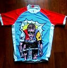 Brand New ICO LeMonster Cycling jersey Lemond La vie Claire Look