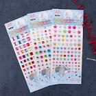 Miulti Colors Self Adhesive Rhinestones Pearls Stick On Scrapbooking Craft Gems