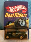 Vintage Hot Wheels Real Riders Jeep Scrambler Blue White Hubs UNPUNCHED