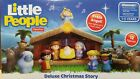 Fisher Price Little People Nativity Set 12 Figures Deluxe Christmas Story