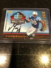 2017 MARVIN HARRISON PANINI DAY PROMO CLASS OF 2016 ON CARD HALL OF FAME AUTO