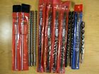Masonry carbide tipped drills. Lot of 13 pc. new drills.