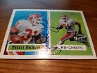 2002 Topps Heritage Real Ones Priest Holmes autograph auto #HR-PHO