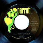 Them All for Myself Here Comes the Night Original 45 7 EX