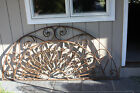 Wrought Iron Arched Door/ Window Guard Panel 80