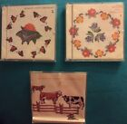 Janome Memory Craft Design Kit includes 3 embroidery memory cards. Rare