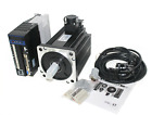 3Ph 220~240V Nema51 130mm Brushless AC Servomotor +Servo Drive with Encoder Kit