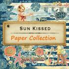Graphic 45 SUN KISSED 8 12x12 Paper Collection Beach Ocean Mixed Media