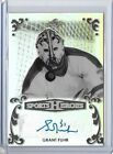 2017 Leaf Metal SPORTS HEROES GRANT FUHR AUTOGRAPH AUTO OILERS BLACK #'d 3 3