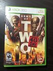 Army of Two: The 40th Day (Microsoft Xbox 360, 2010)
