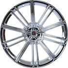 4 GWG Wheels 18 inch Chrome FLOW Rims fits SUBARU B9 TRIBECA 2006 2007