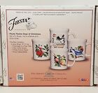 Fiestaware 12 Days of Christmas Java Mug Lot of 4 Fiesta Coffee mugs