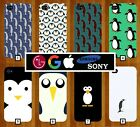 Penguin Phone Case Cover Cute Animal Frozen Artic Suit Black and White Xmas 145