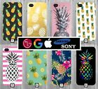 Pineapple Phone Case Cover Cute Pink Pattern Tumblr Novelty Fruit Cool Funny 146