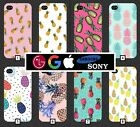 Pineapple Phone Case Cover Cute Pink Pattern Tumblr Novelty Fruit Cool Funny 348