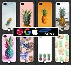 Pineapple Phone Case Cover Cute Pink Pattern Tumblr Novelty Fruit Cool Funny 355