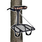 Hang On Tree Stand Real Tree Seat Cushion Backpack Straps DVD Lightweight New
