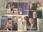 Barack Obama 10 NY Daily News Newspapers coverage 2008 Presidential Election