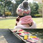 Sale Women Girl New Winter Hat Knit Cap Lovely Wool Bowknot Pearl High Quality