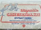 VINTAGE DISPOSABLE OBSTETRICAL KIT BY DYNAMED MADE IN USA FREE SHIPPING