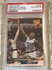 Shaquille O'Neal 1993-94 Ultra On Card Autograph PSA DNA Certified Fleer Stamp