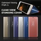 Luxury Mirror Smart Clear View Wallet Flip Case Stand Cover For Iphone 7 /7 Plus