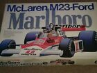 ENTEX MCLAREN M23-Ford 1/8TH Model Kit NEW & COMPLETE w/Decal's & Instruction's
