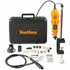 Rotary Tools Variable Speed Kit Stand, Storage Case Flexi-shaft Including 34 Set