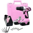 Drill Drivers PP182 18V Cordless Electric Set For Women Tool Case, Volt Drill,