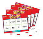 Trend Enterprises Sight Words Bingo - Set of 46 Words and 36 Playing Cards