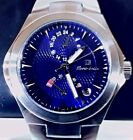 LOUIS BOLLE ZENITH Power Reserve Watch Stainless Steel/Blue Dial