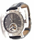 Auth! Bulgari Bvlgari Limited Edition Tourbillon 18k White Gold Watch BBW38GLTB