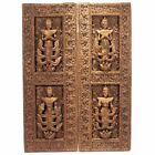 A Pair of Antique Architectural Window panels from Thailand