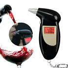 Portable Digital Alcohol Breathalyser Breath Tester LCD + 5x Mouthpieces MC