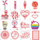 Stationery Cutting Dies Stencil DIY Scrapbooking Album Paper Card Embossing Gift