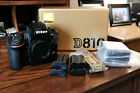 MINT+++ Nikon D D810 363MP Digital SLR Camera in box PLUS EXTRAS