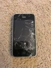 Apple iPhone 3G 8GB Black ATT Smartphone MB702LL A GSM Cracked Screen
