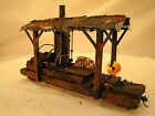 On30 Steam Engine Logging Diorama custom weathered paintedhand built lot 17