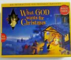 VINTAGE 2005 WHAT GOD WANTS FOR CHRISTMAS INTERACTIVE KID FRIENDLY NATIVITY E