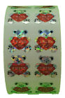 400 Small I Miss You Bear Stickers in a roll of 100 modules Each Sticker 1